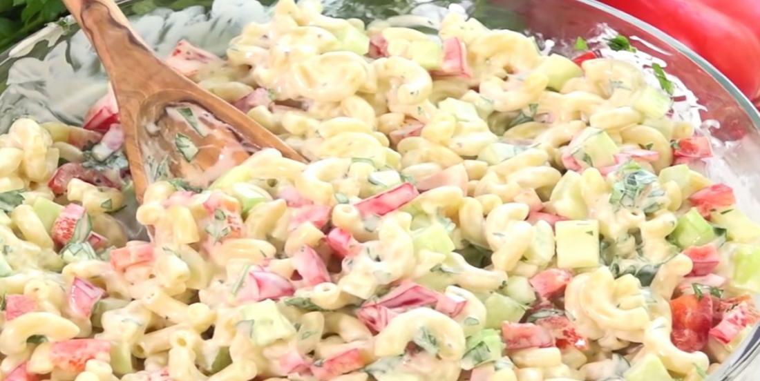 La meilleure recette de salade de macaroni