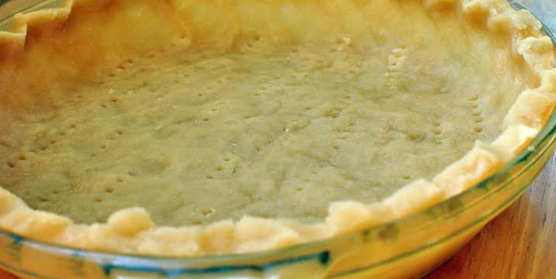 Croûte à tarte facile et inratable, sans bol et sans mélangeur!