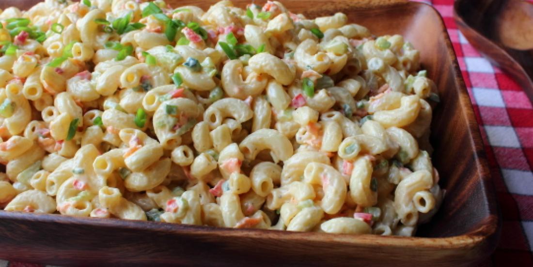 Cette salade de macaroni est la meilleure sur terre