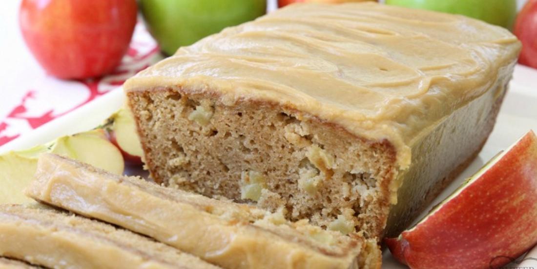 Pain aux pommes et caramel... que des saveurs incroyables