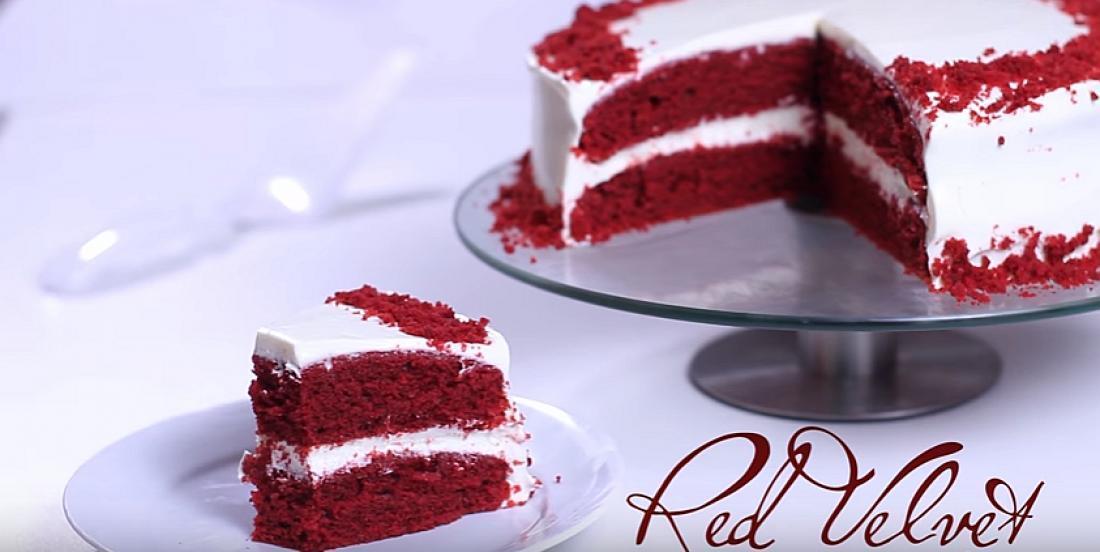 Un gâteau Red Velvet si moelleux qu'on a envie de le déguster encore et encore