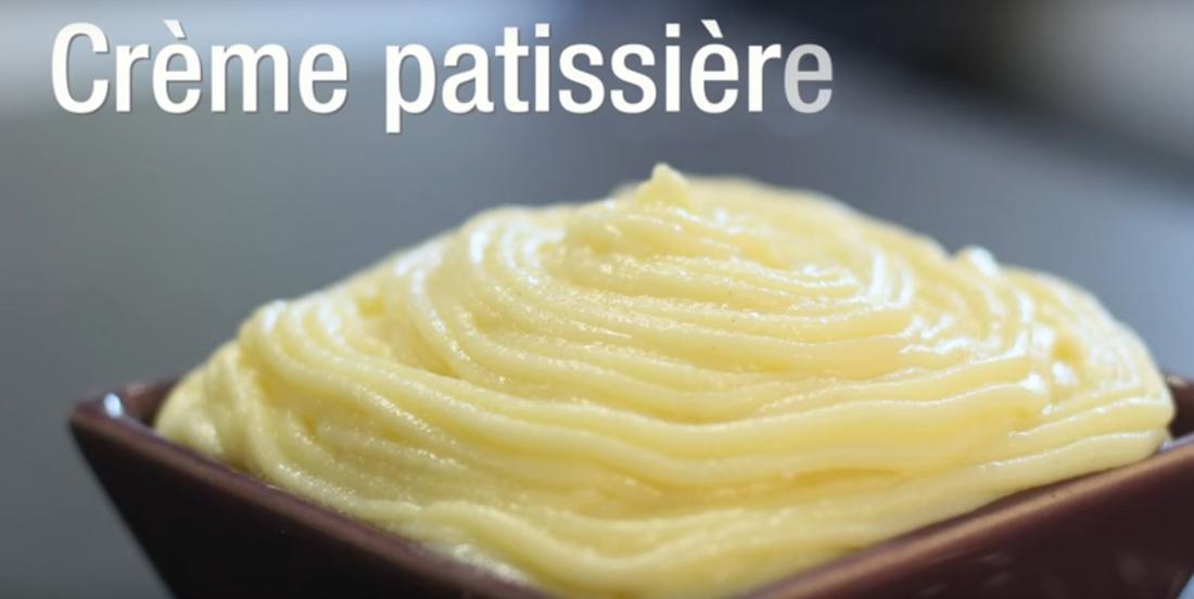 Une crème pâtissière maison immanquable