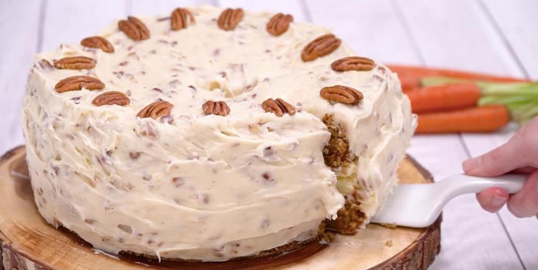 Gâteau aux carottes et cheesecake