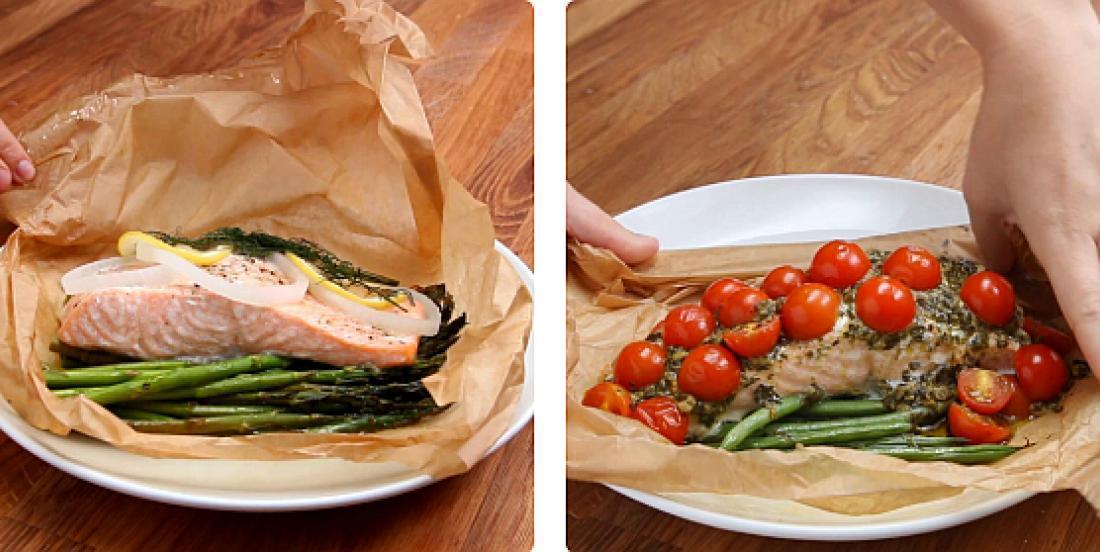 4 façons de cuisiner le saumon sans tracas dans du papier parchemin