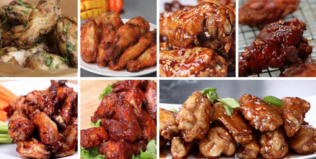 7 façons délicieuses d'apprêter les ailes de poulet