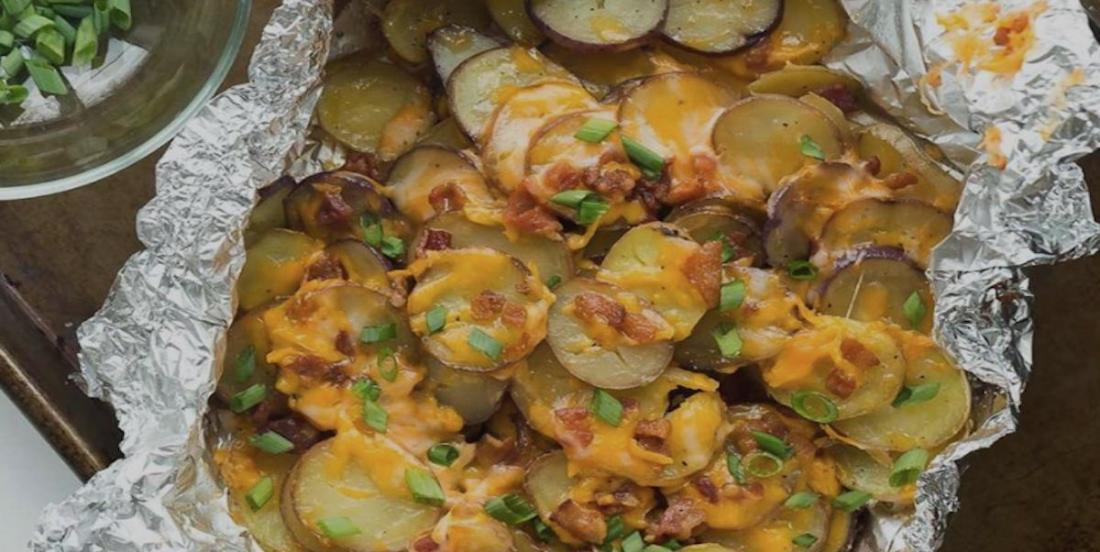 La meilleure recette de pommes de terre sur le barbecue