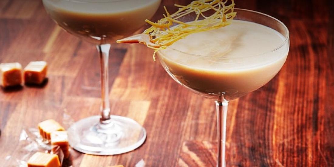 Martini onctueux au Bailey's façon crème brûlée