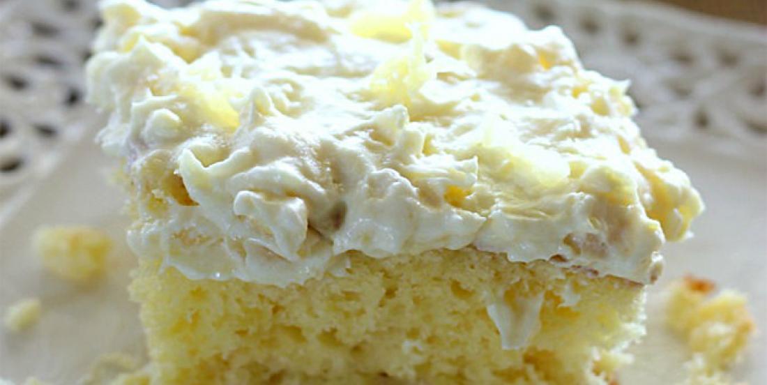 Gâteau à l'ananas pour mettre un peu de soleil dans votre hiver