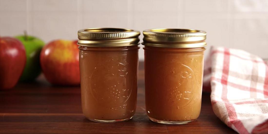 Délicieux beurre de pomme pour l'automne