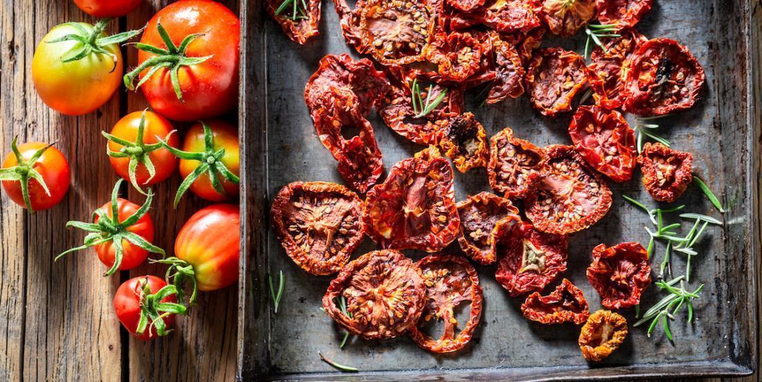 Comment préparer des tomates séchées au four