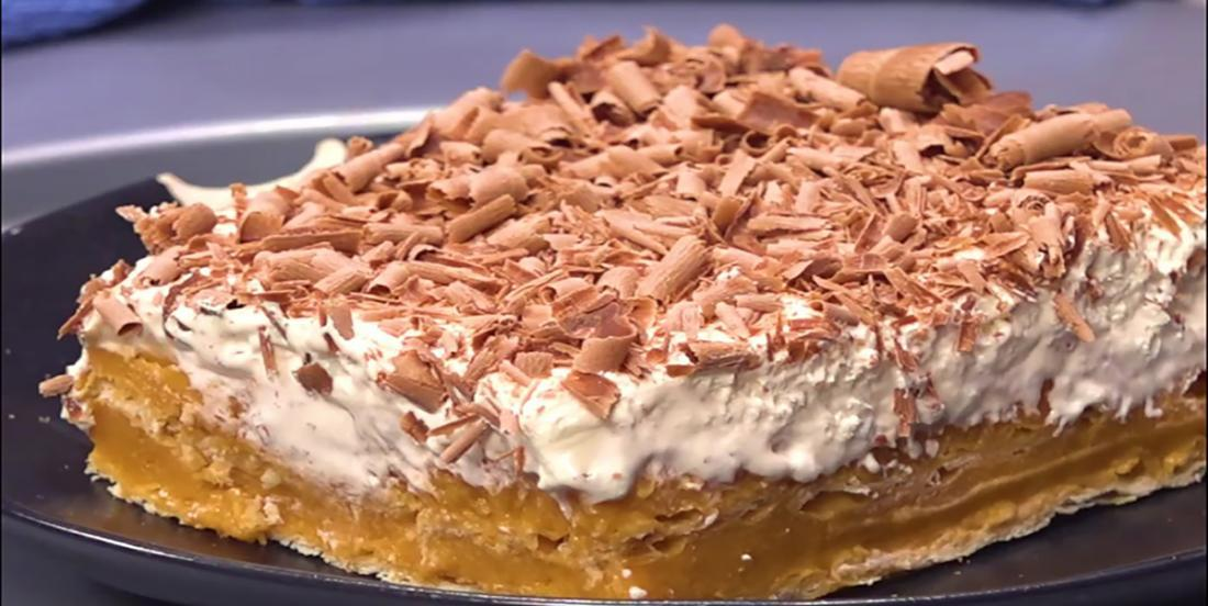 Gâteau au caramel écossais qui ne demande que 4 ingrédients