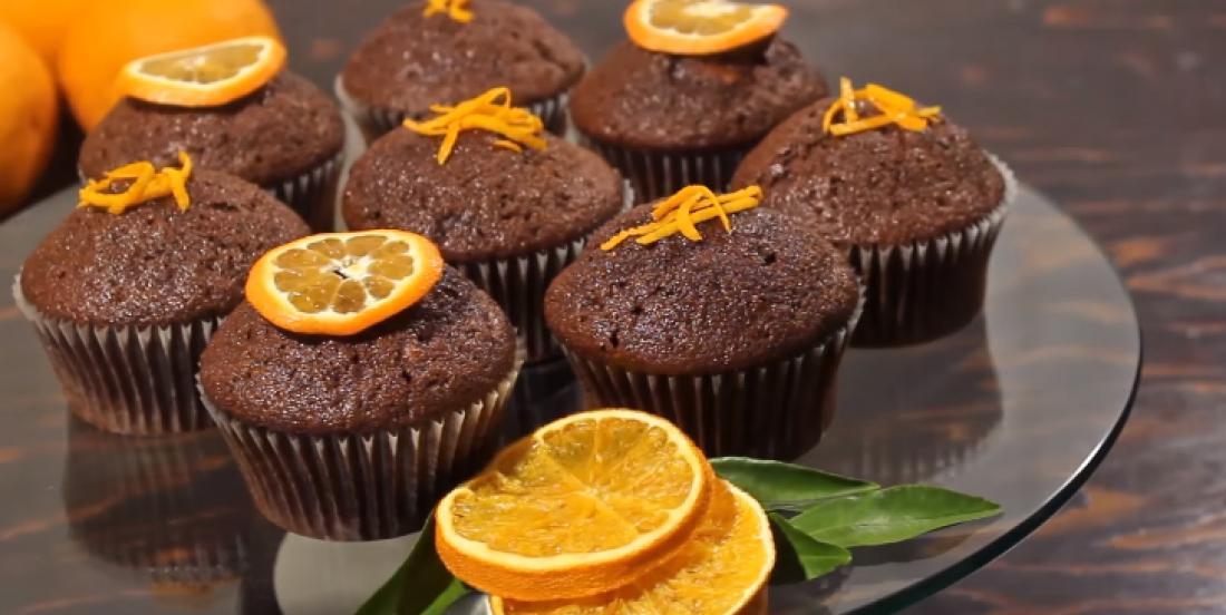 Les meilleurs muffins choco-orange