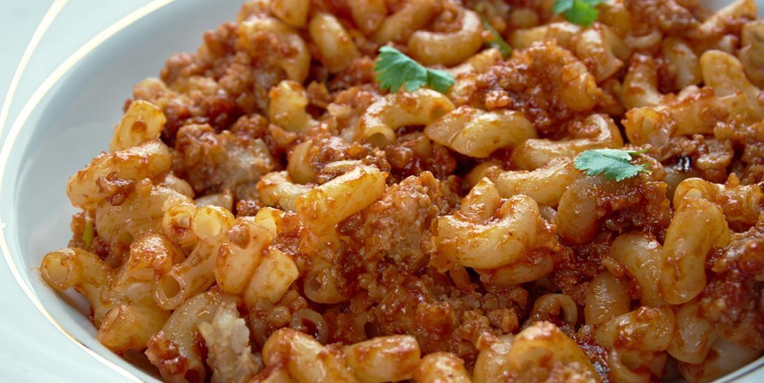 Le meilleur macaroni à la viande