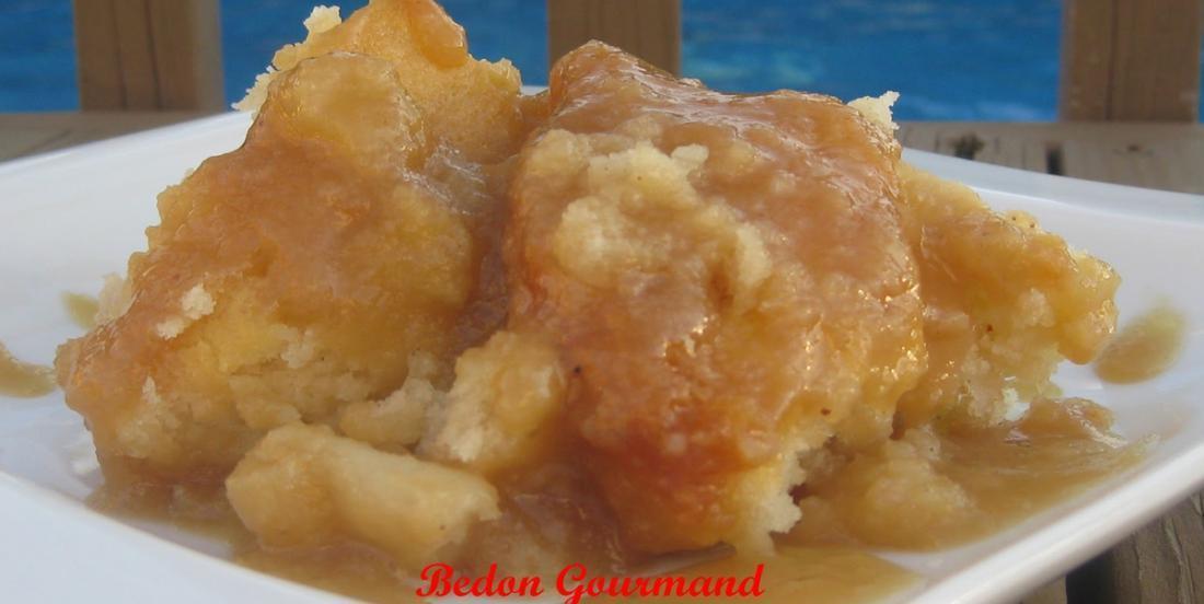 Pouding chômeur aux pommes, difficile de trouver une recette plus gourmande!