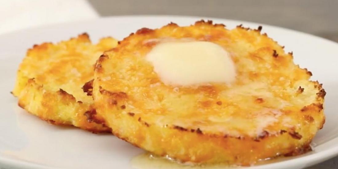 Croustillant muffin anglais au chou-fleur