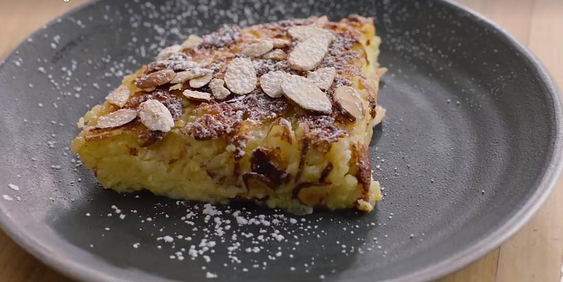 Dessert coup de coeur : Tarte citron-amandes sans croûte