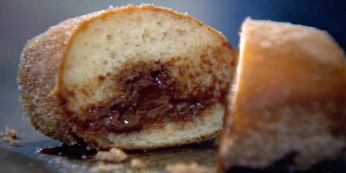 Beignets farcis au chocolat de Gordon Ramsay