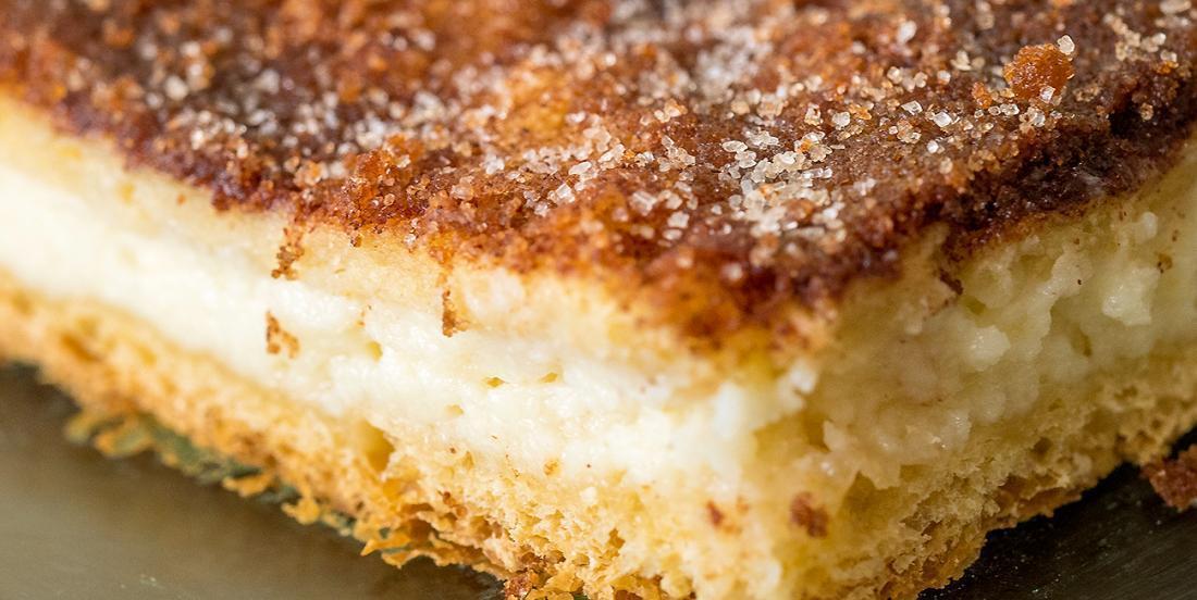Crème fromagée, coussins de pâtes feuilletées... Un dessert pas trop sucré qui vous fera craquer!