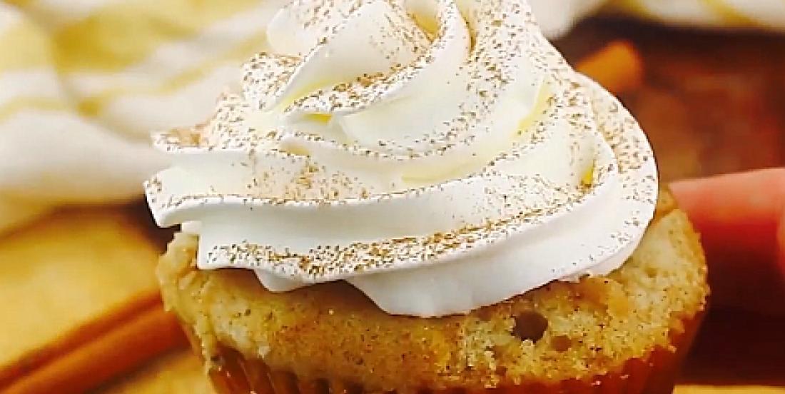 Cupcakes exquis à saveur de tarte aux pommes