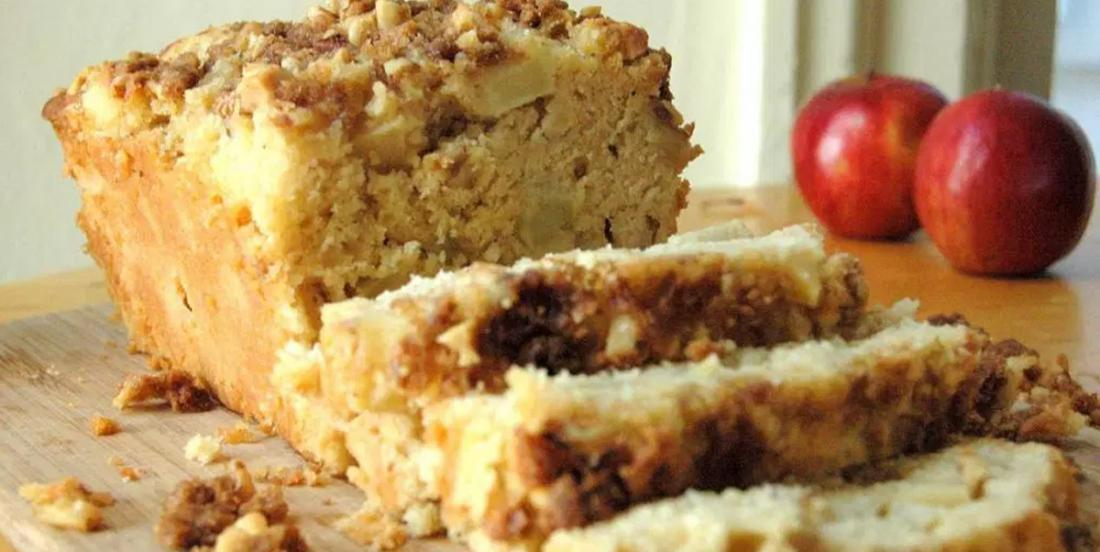 En automne, on craque littéralement pour le pain à la tarte aux pommes
