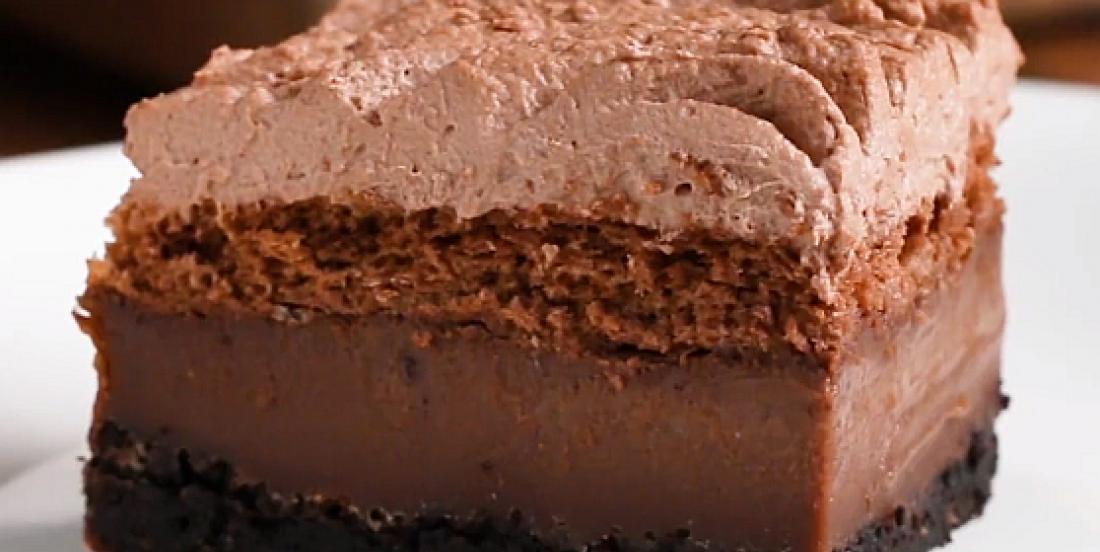 Épatant gâteau au chocolat 4-en-1