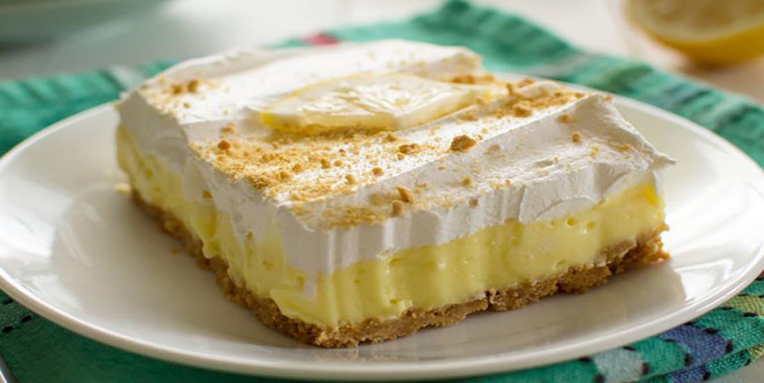Gâteau au citron sans cuisson et trop facile à réaliser