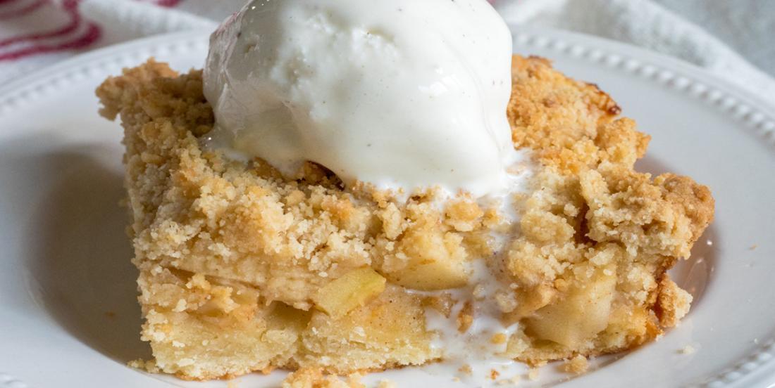 Gâteau streusel aux pommes, un dessert facile, aux saveurs de l'automne