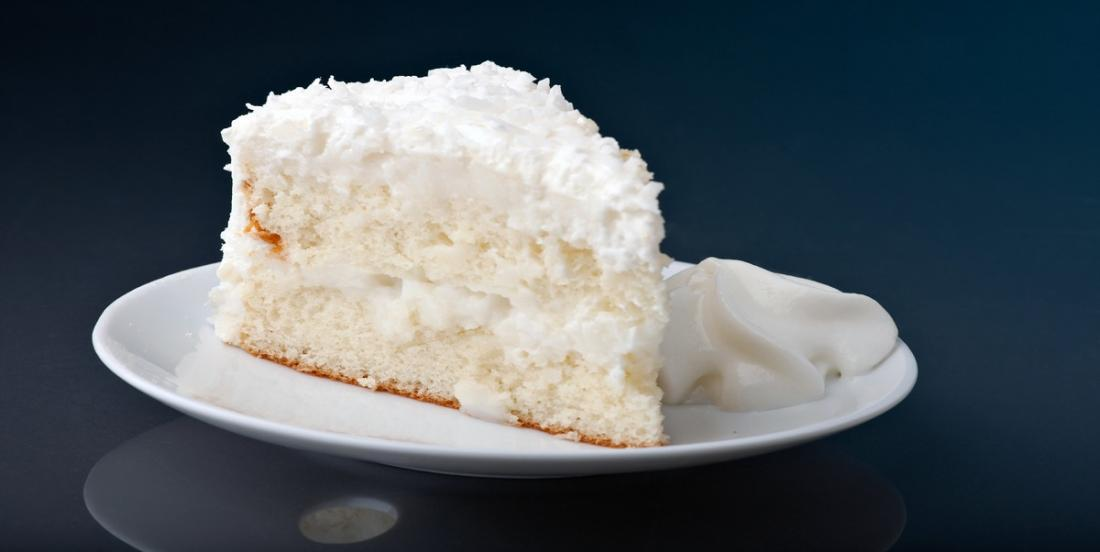 La meilleure recette de gâteau blanc