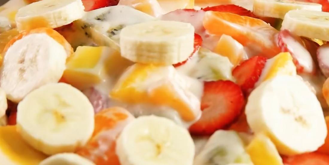 Salade de fruits à l'hawaïenne
