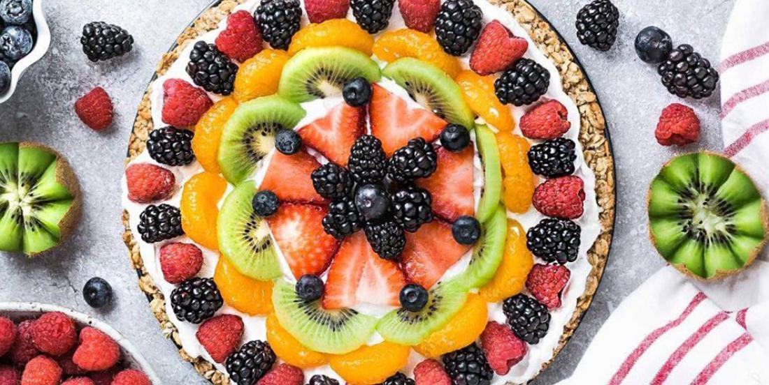 Servez un dessert santé grâce à cette superbe pizza aux fruits