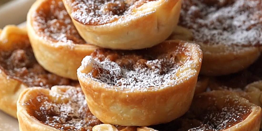 Tartelettes choco-noix délicatement feuilletées et simples à préparer