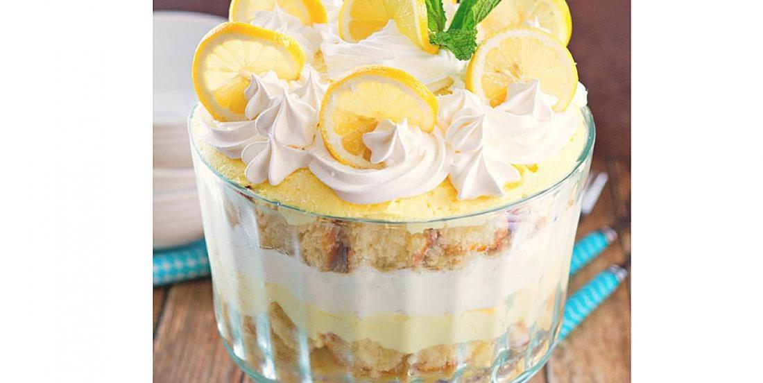 Bagatelle au citron qui goûte l'été