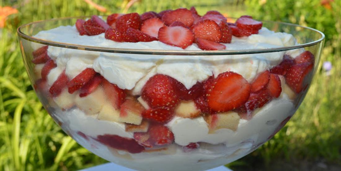 Bagatelle aux fraises d'automne d'Eagle Brand, un must à cuisiner ce week-end!