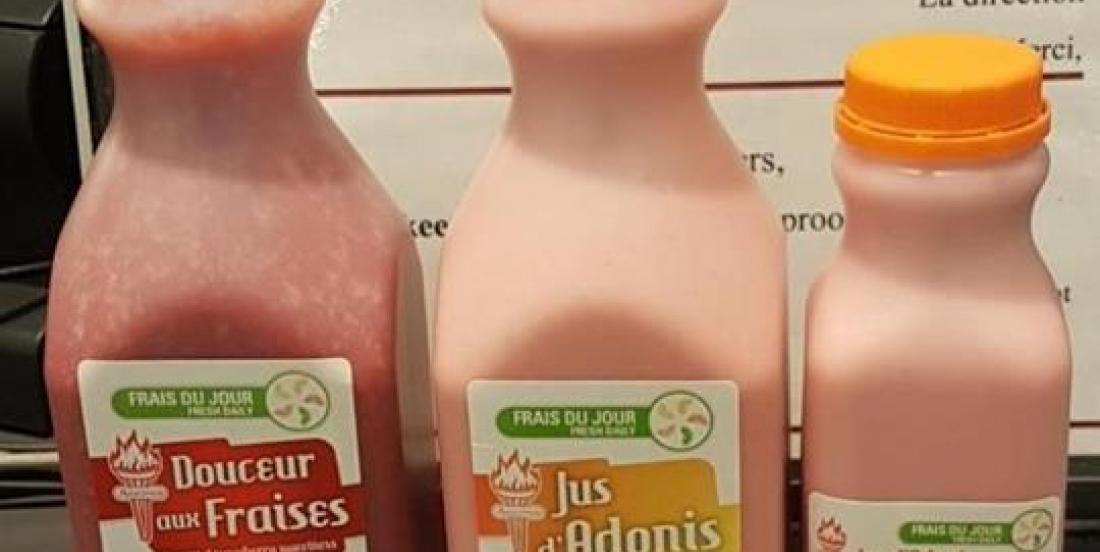 Des jus et cocktails vendus chez Adonis pourraient être contaminés à l'hépatite A