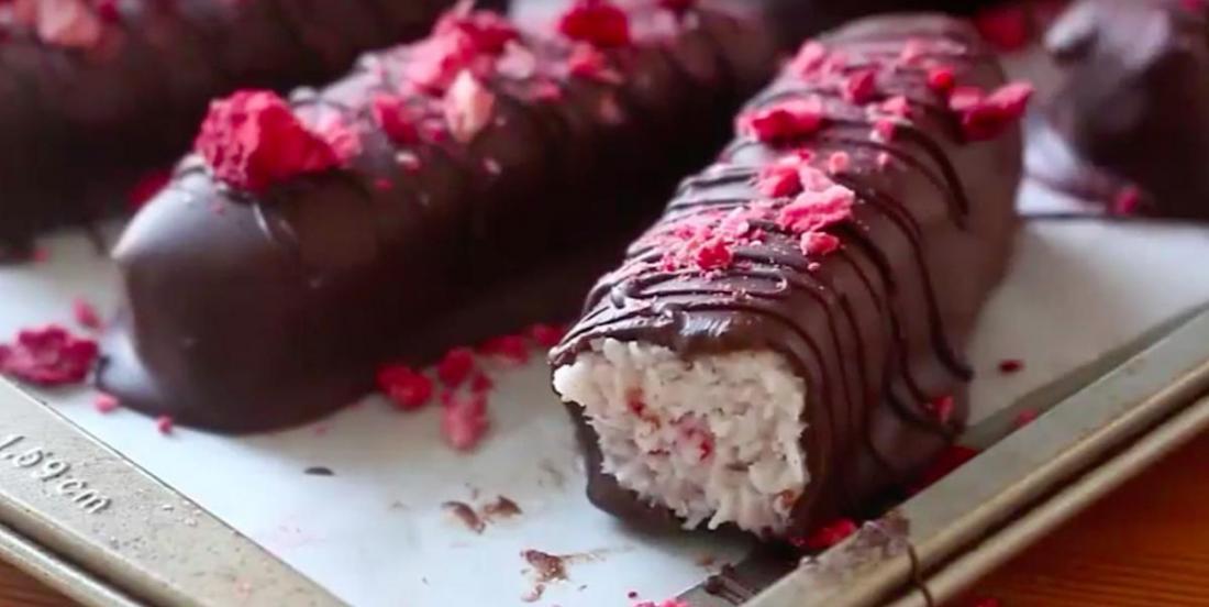 Barres santé choco-fraise!
