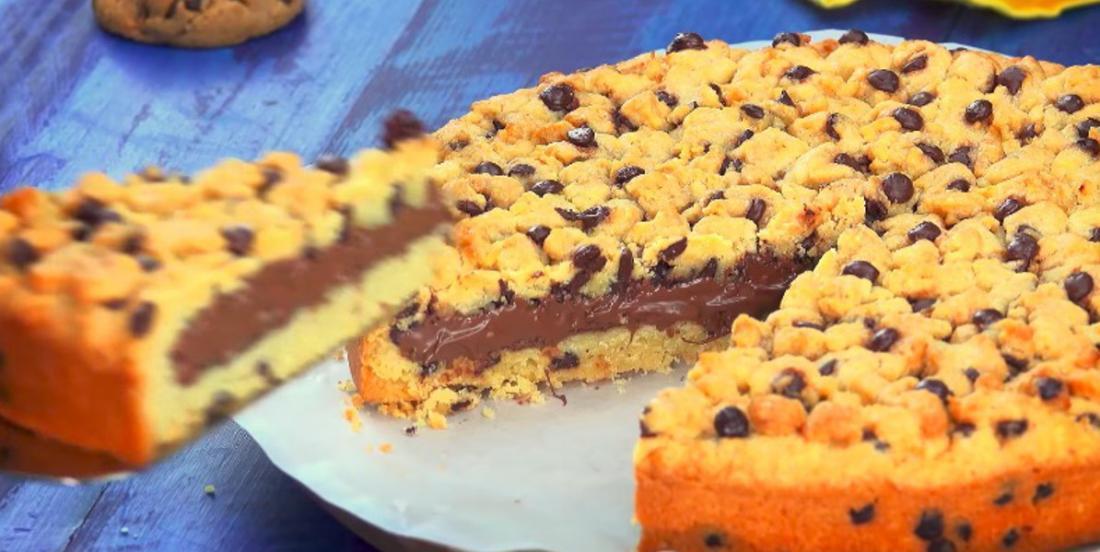 Biscuit géant au Nutella