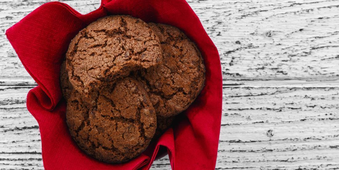 Biscuits au chocolat et à la fleur de sel, l'amalgame sucré-salé par excellence