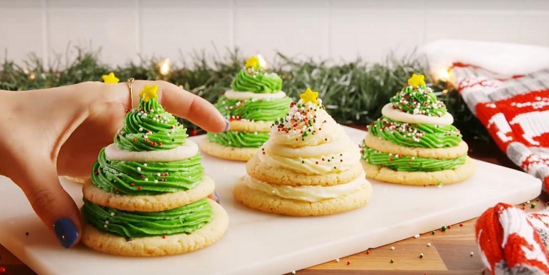 Biscuits en forme de sapin vraiment simples et amusants à préparer