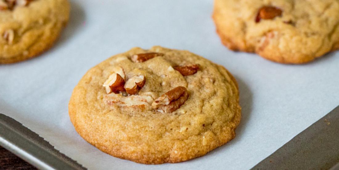 Biscuits faciles au beurre et aux pacanes grillées