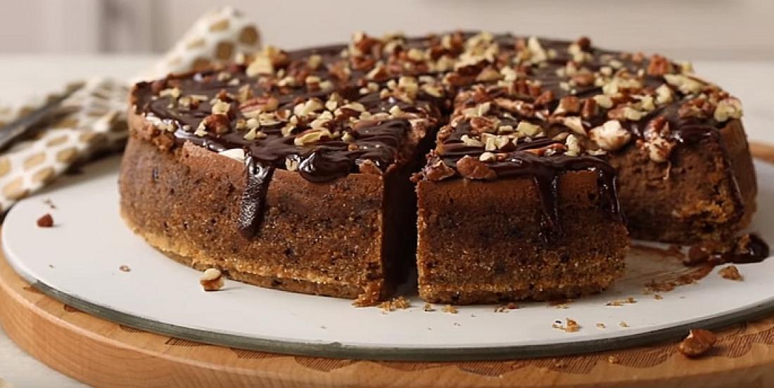 Réinventez le gâteau au fromage avec ce délice chocolaté à la guimauve et aux pacanes