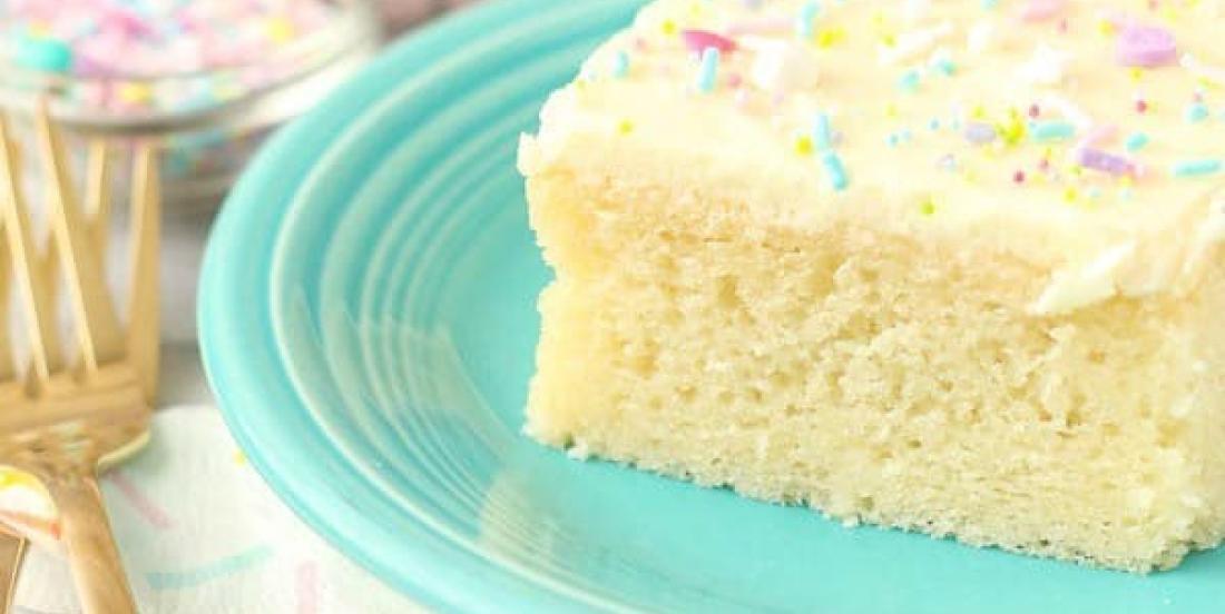 Un gâteau à la vanille moelleux comme celui de maman et qui fera fondre votre coeur