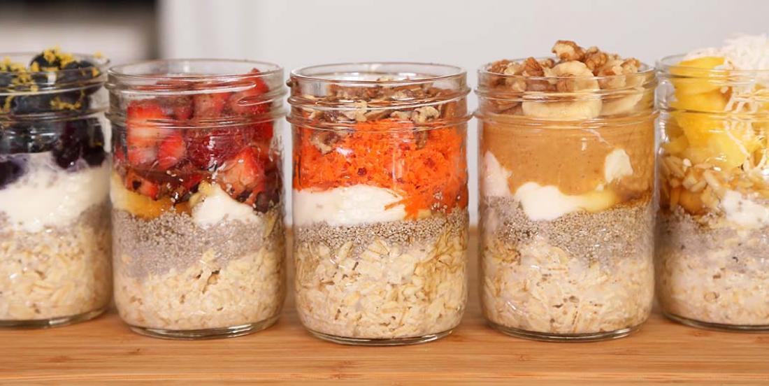 5 recettes de gruau à préparer à l'avance
