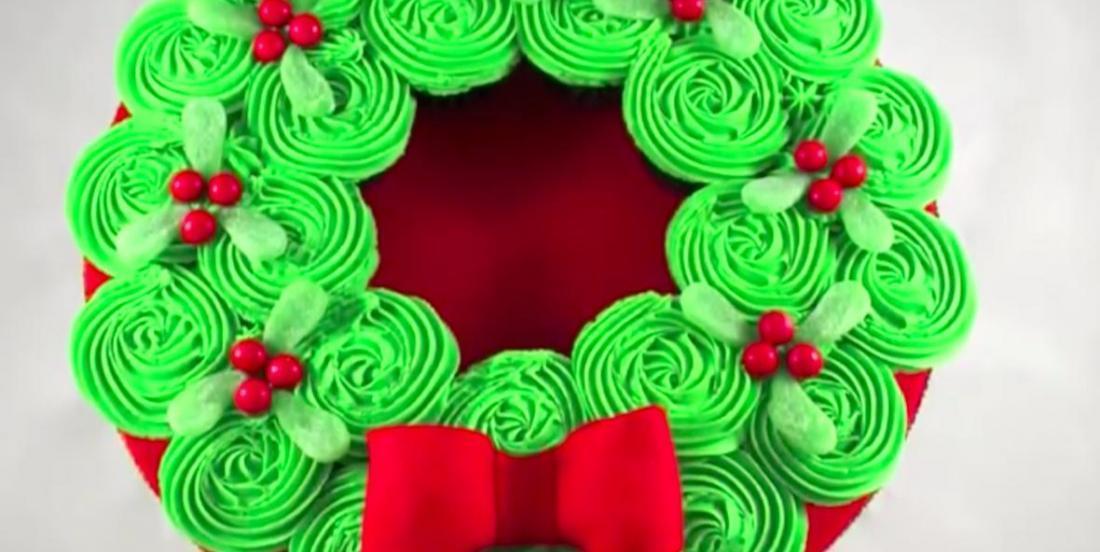 Créez cette magnifique couronne de cupcakes en quelques étapes faciles