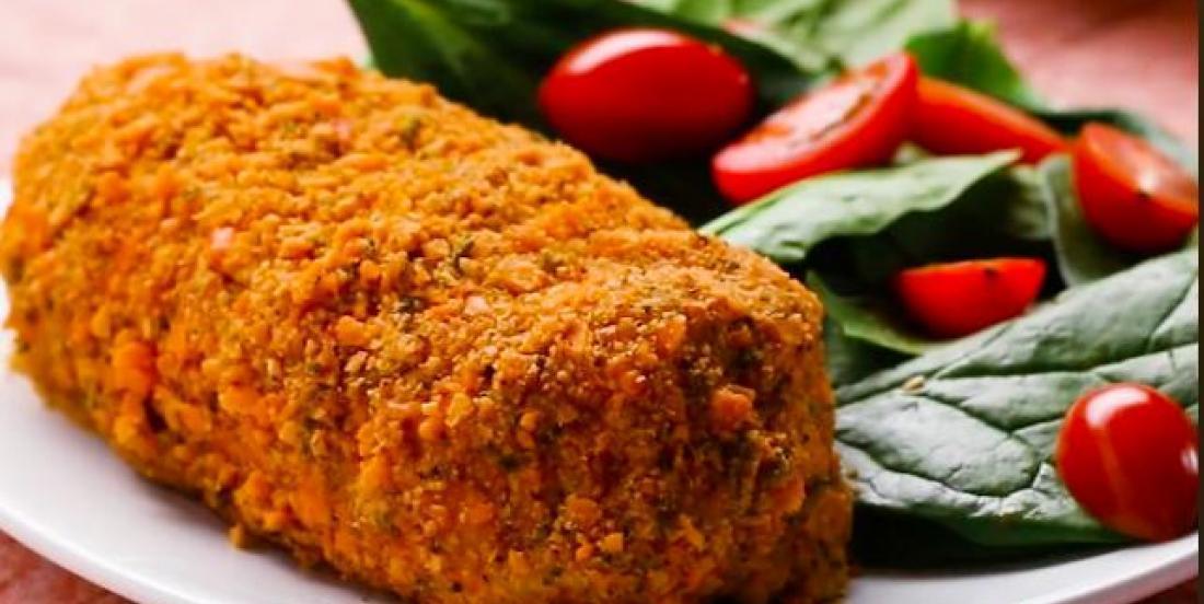 Rouleaux de poulet au brocoli et au cheddar