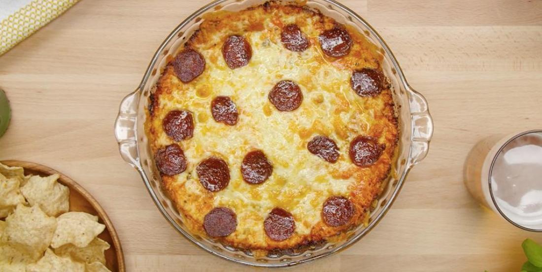 Trempette à la pizza
