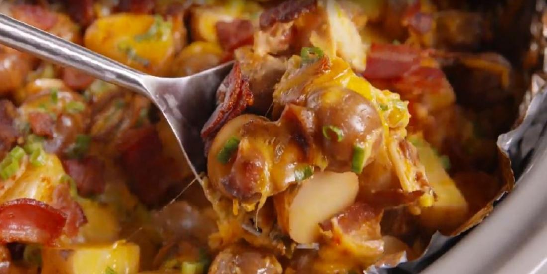 Pommes de terre réconfortantes à la mijoteuse