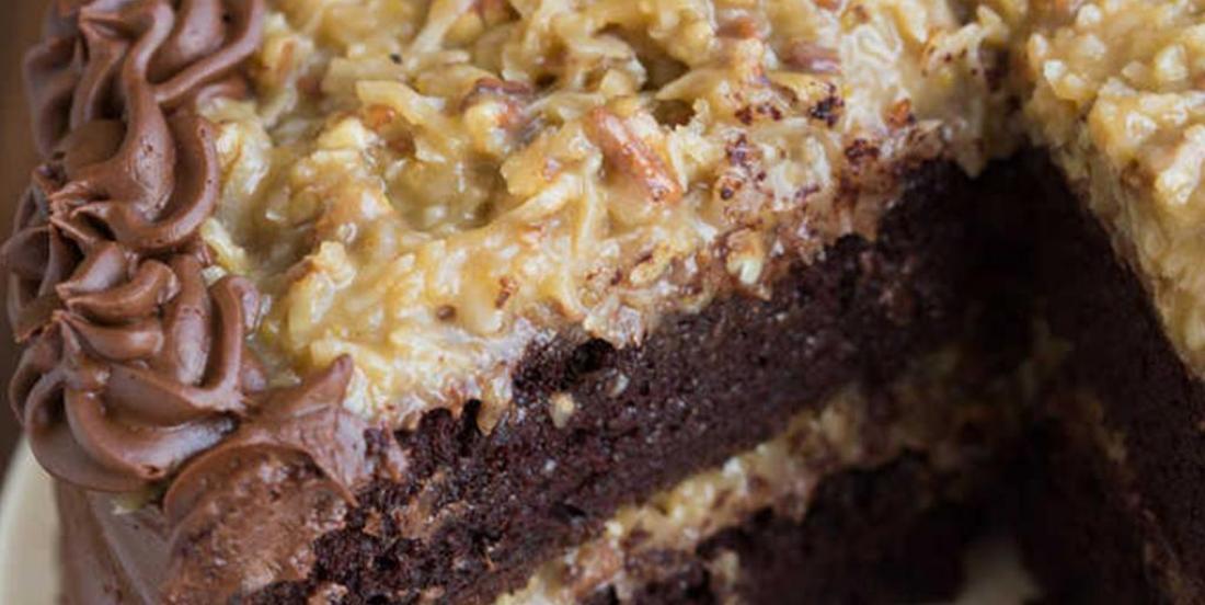 Gâteau au chocolat allemand tout à fait exquis