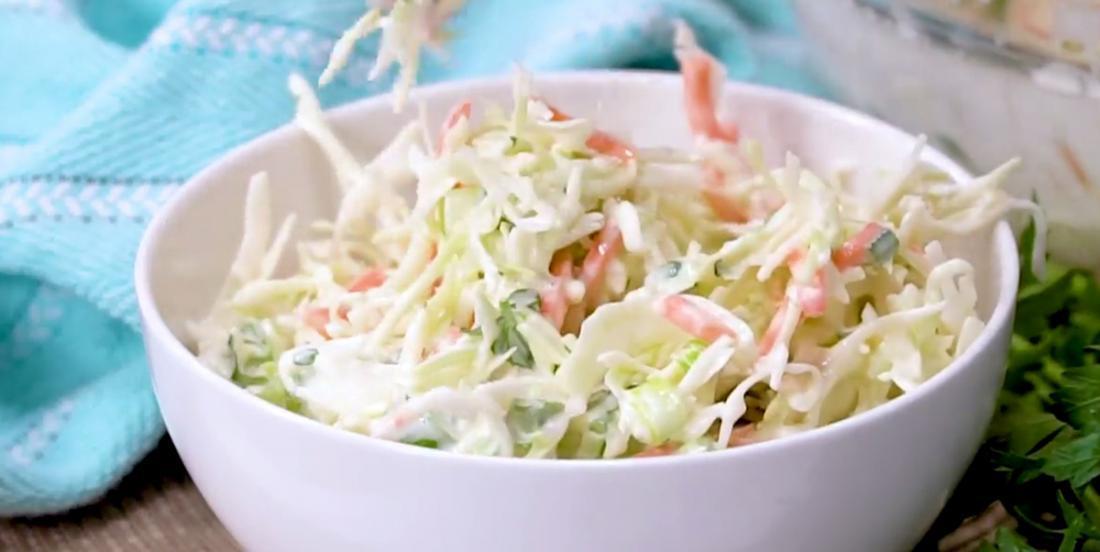 Salade de chou délicieuse et qui se prépare rapidement