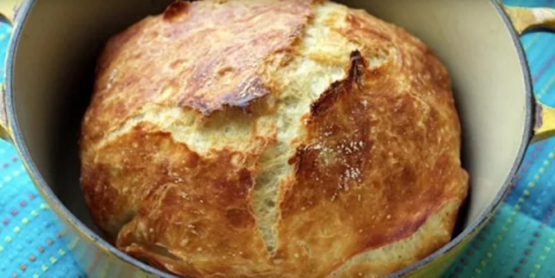 Sans machine et sans pétrissage, un pain maison qui a fait ses preuves