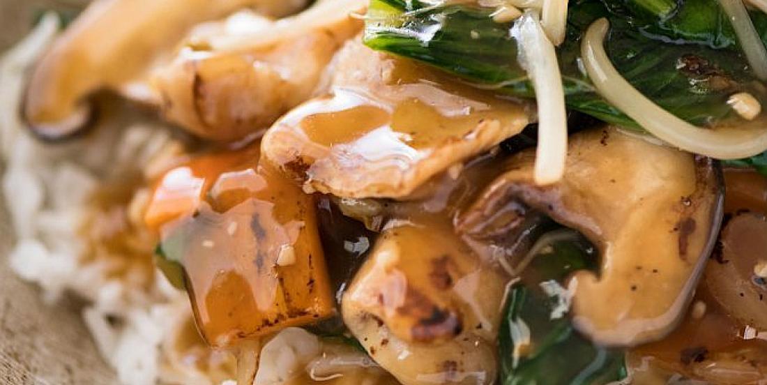 Sauté de poulet à l'asiatique prêt en moins de 15 minutes